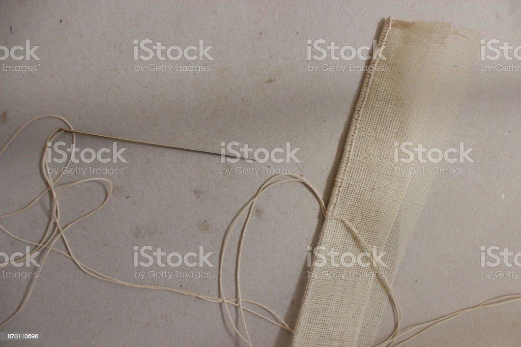 Alte Papier Bettwäsche – Foto