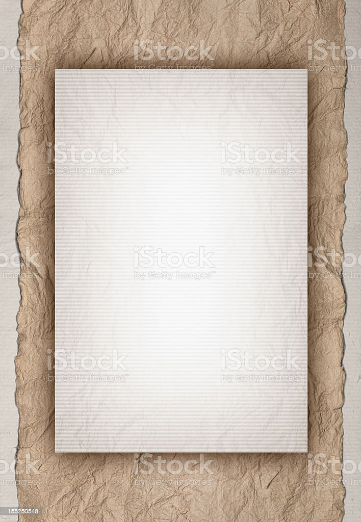 Old Paper Template Design royalty-free stock photo
