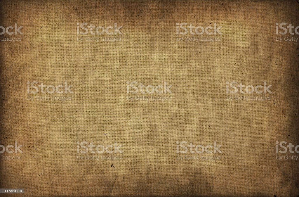 Old paper texture and stained fabric royalty-free stock photo