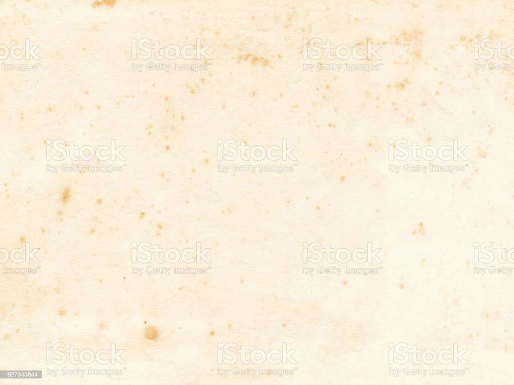 Old Paper Texture Background Stock Photo - Download Image Now - iStock