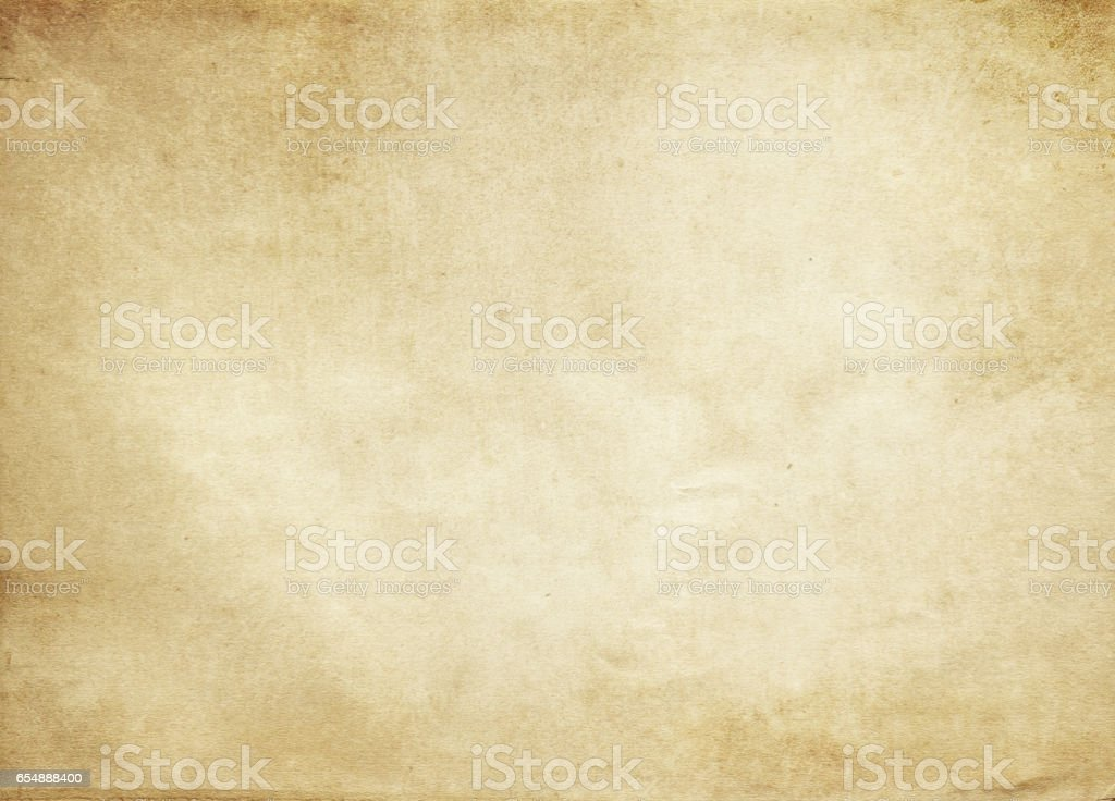 Old Paper Texture Or Background Stock Photo - Download Image Now