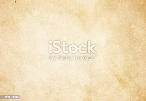 istock Old paper texture. 612833834