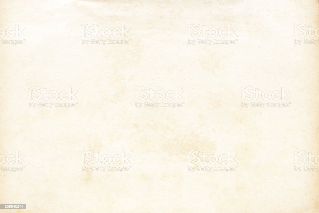 Old Paper Texture Stock Photo - Download Image Now - iStock