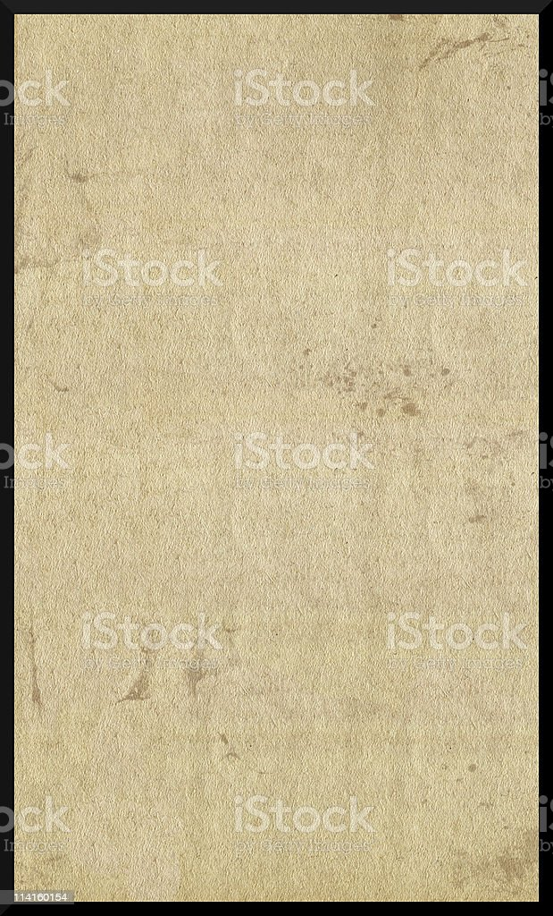Old Paper Texture with Black Border royalty-free stock photo
