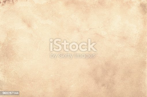 Old Paper Vintage Aged Background Or Texture Stock Photo & More Pictures of Abstract