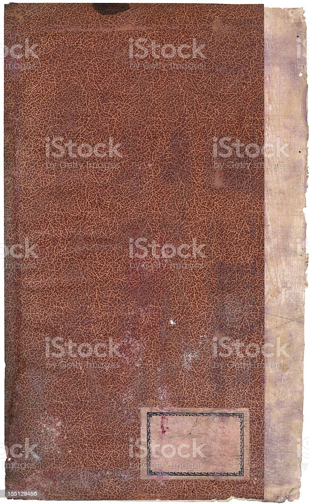 Old paper with dark edges. royalty-free stock photo