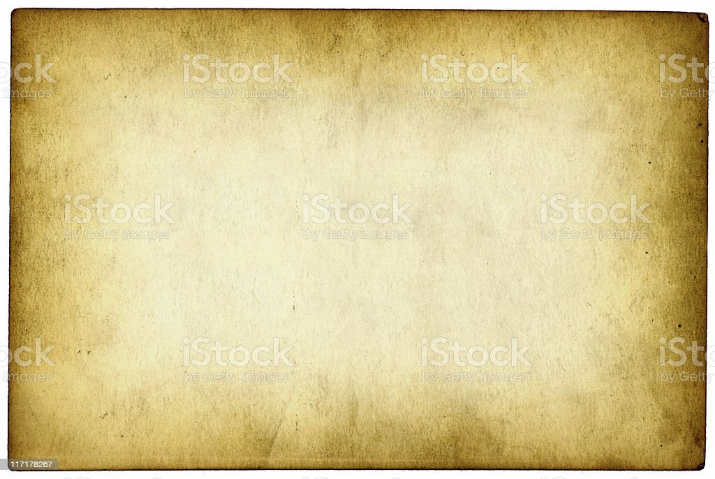Old paper with darker edges royalty-free stock photo