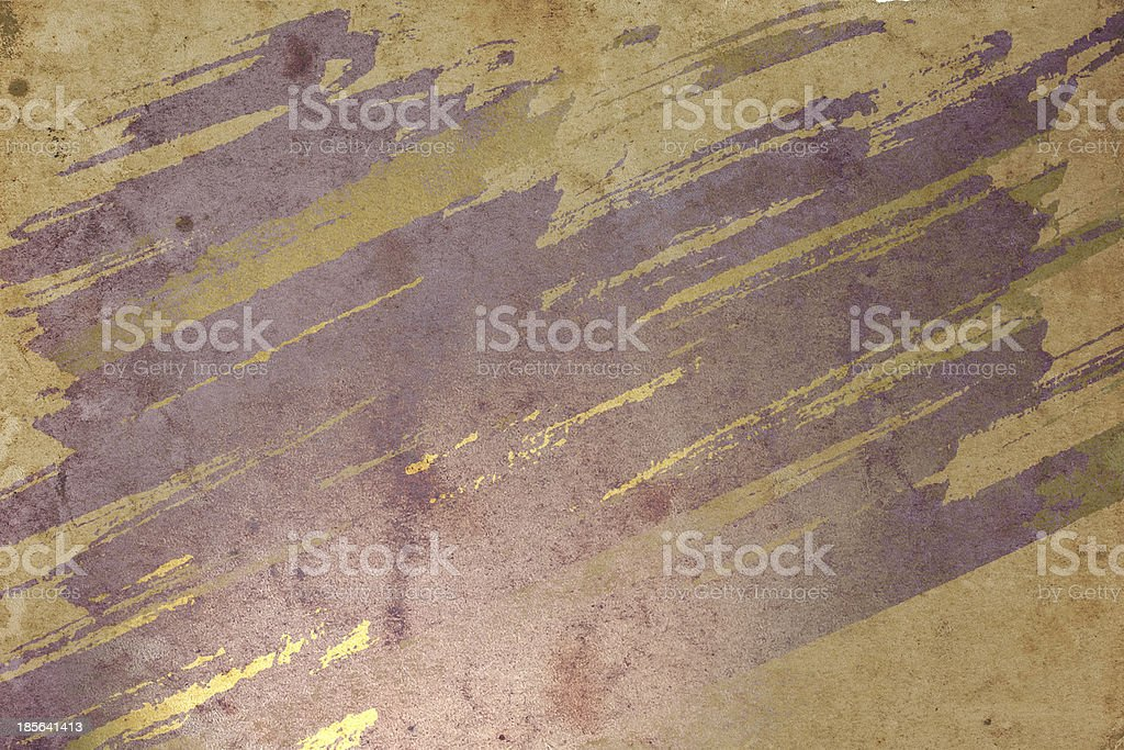 old paper with ink stains royalty-free stock photo