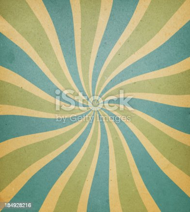 istock old paper with spiral ray pattern 184928216