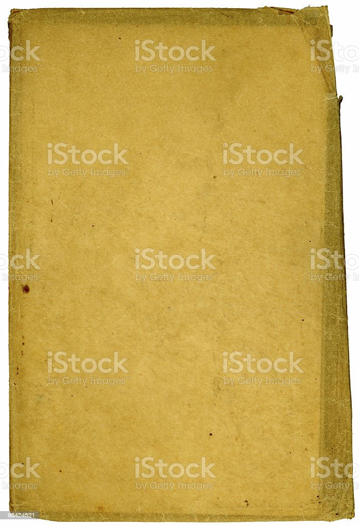 Old paper with uneven edges royalty-free stock photo