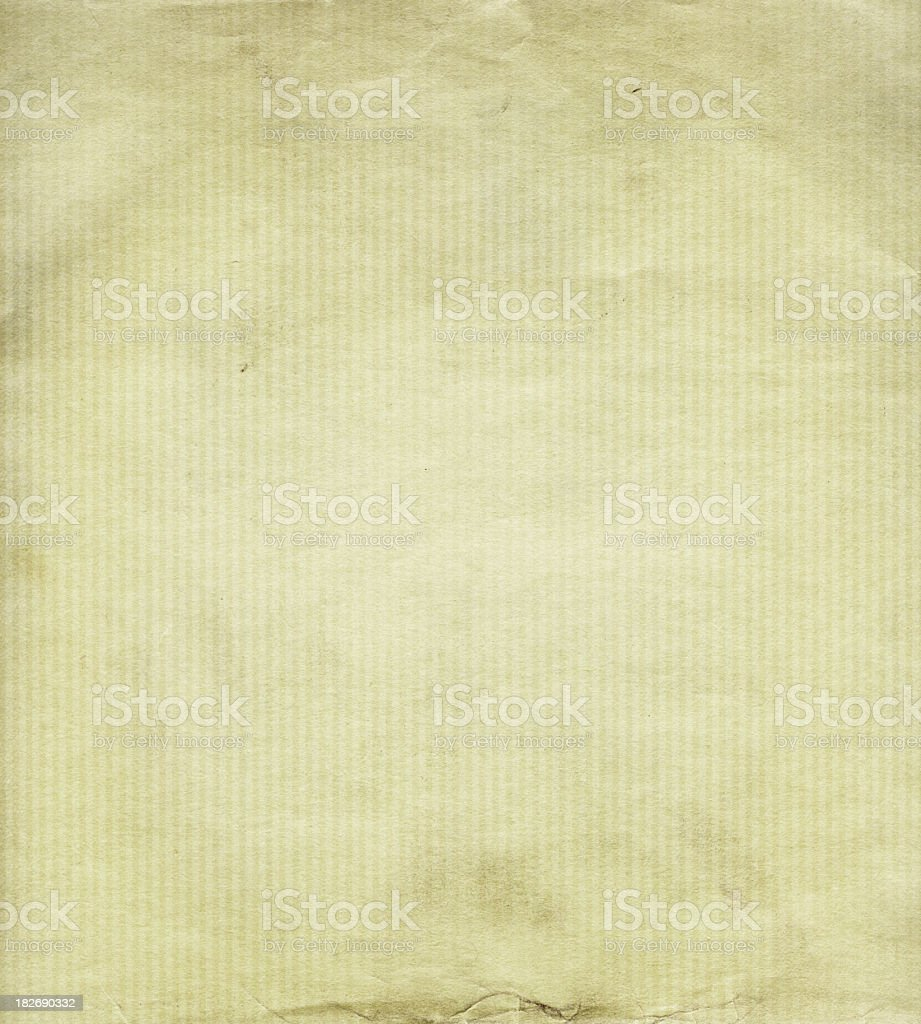 old paper with vertical lines stock photo
