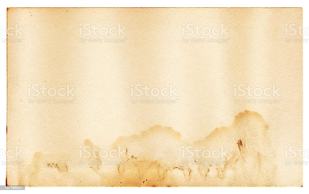 Old Paper with Water Marks stock photo