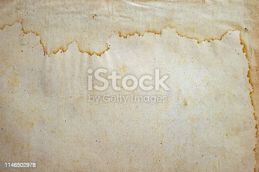 istock old paper with water stains 1146502978