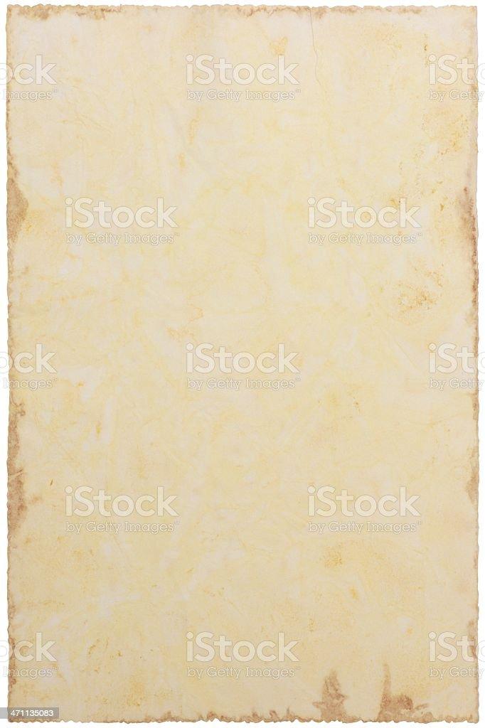 Old paper XXXL stock photo