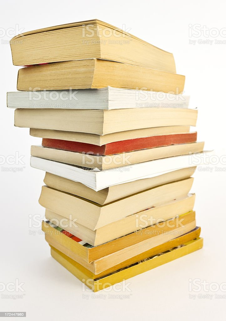 Old Paperbacks royalty-free stock photo