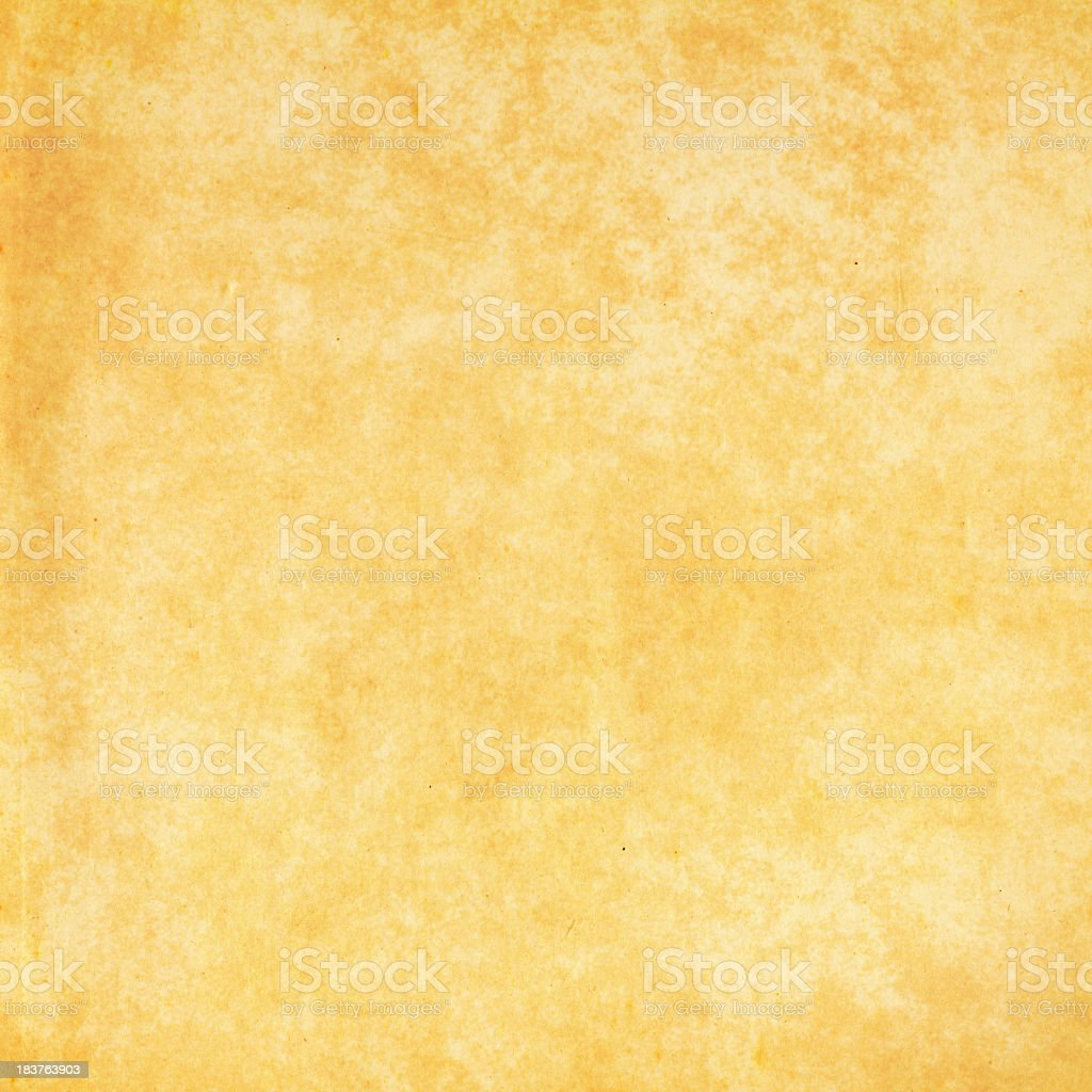 Old parchment paper background royalty-free stock photo