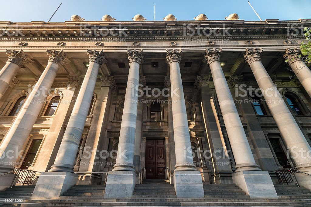 Old Parliament House stock photo