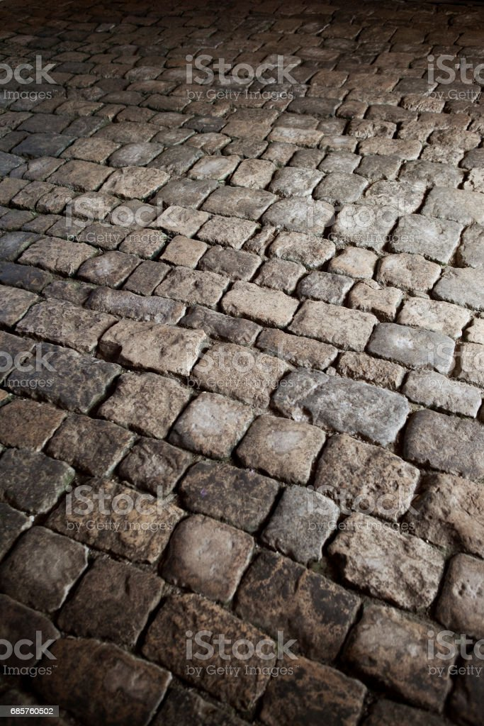Old pavement in a French castle royalty free stockfoto