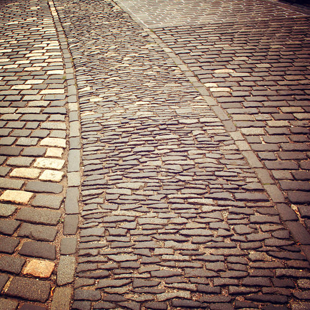 Altstadt angesiedelt nützlich als Hintergrund-retro-filter. – Foto
