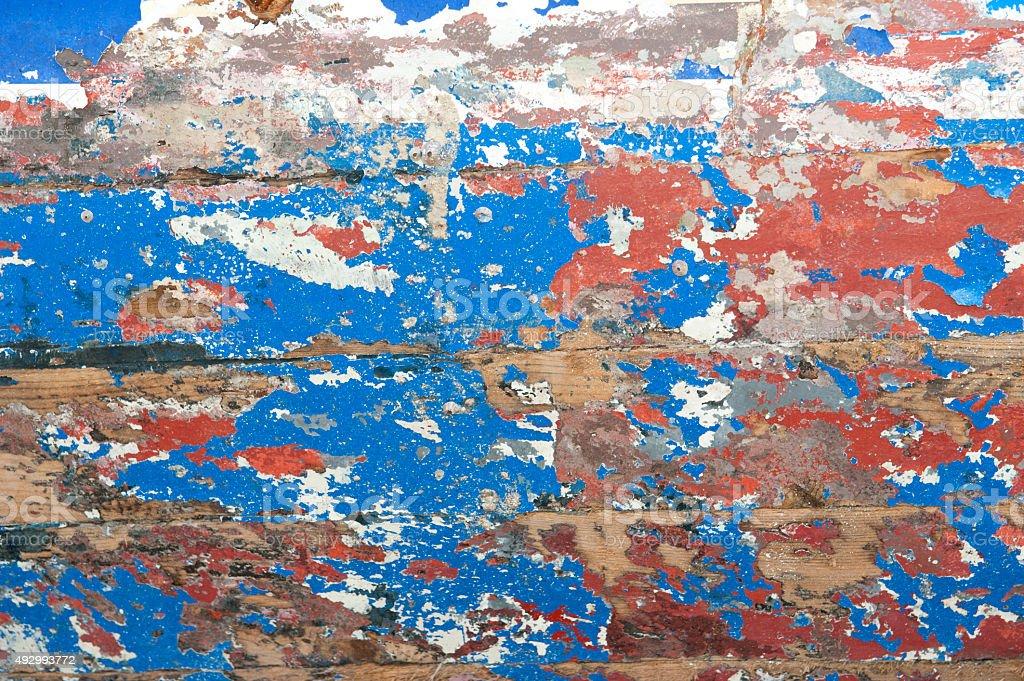 Antigo fundo de grunge pintura descascada - foto de acervo