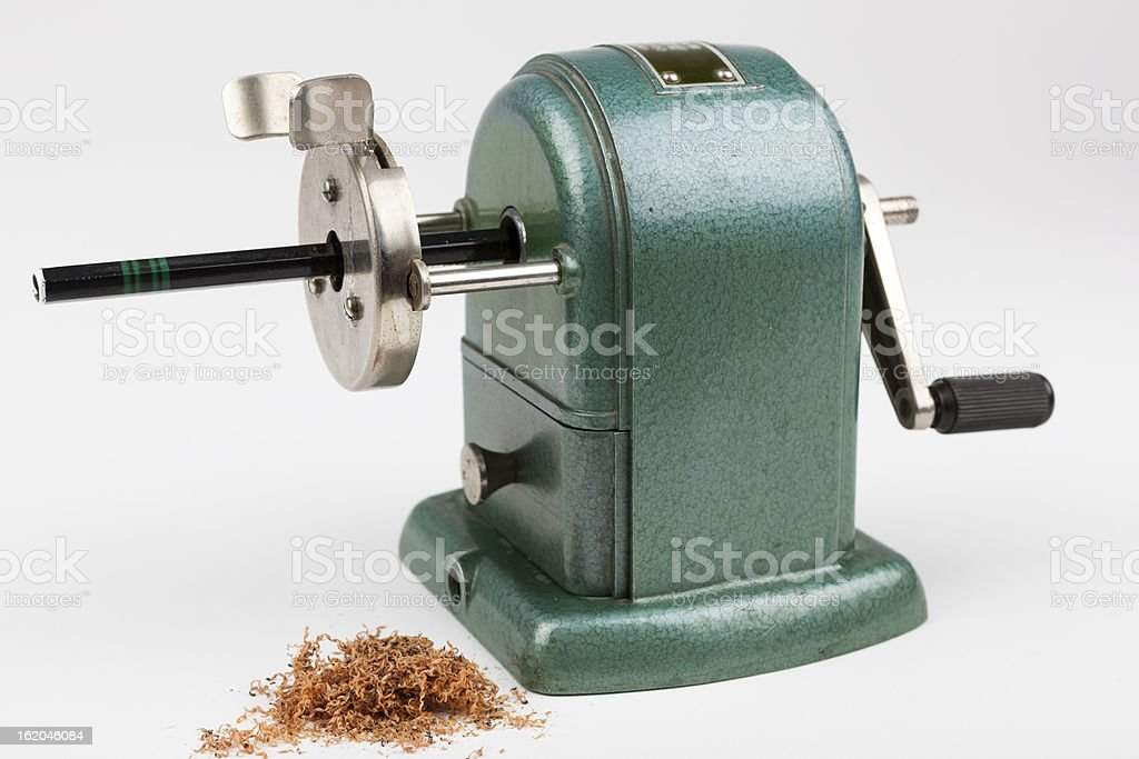 Old Pencil Sharpener stock photo