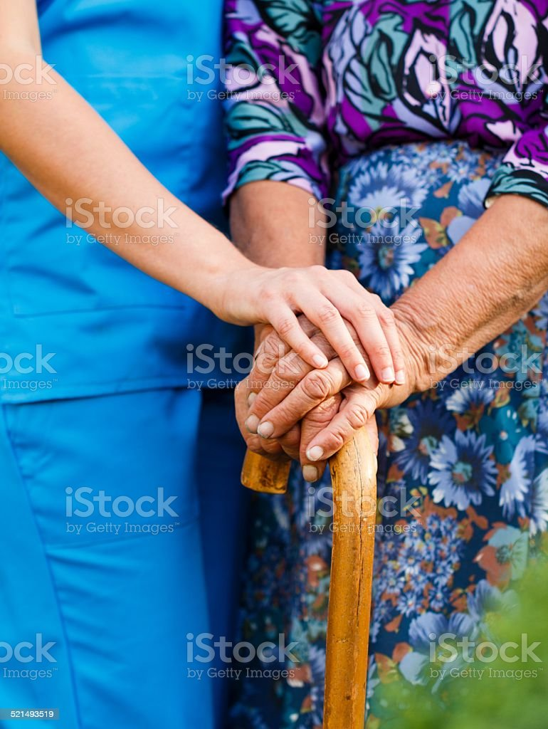 Alte Menschen Krankheiten. – Foto