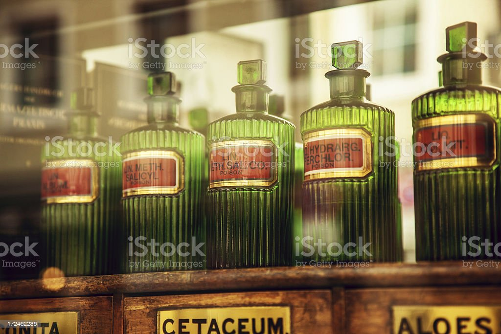 Old pharmacy - Royalty-free 19th Century Style Stock Photo