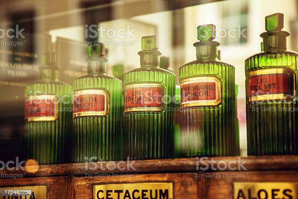 Old Pharmacy Stock Photo - Download Image Now