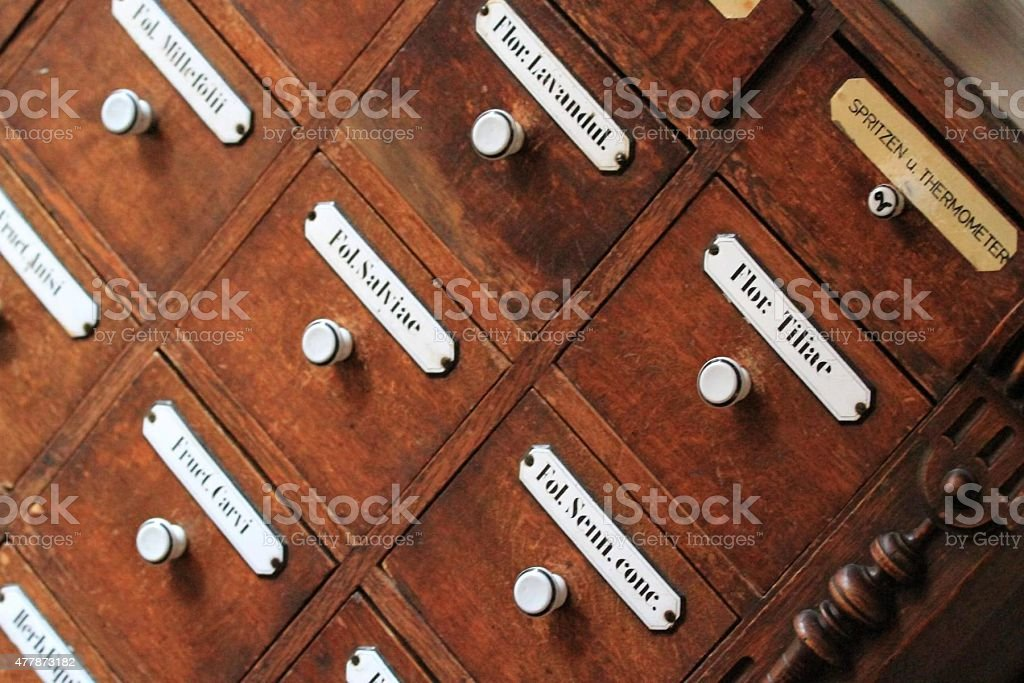 Alte Apotheke stock photo
