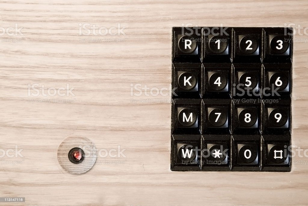 Old phone Dial royalty-free stock photo