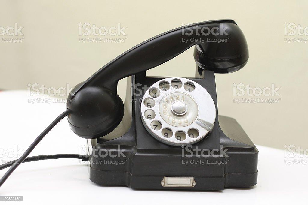 Alte Telefon Lizenzfreies stock-foto
