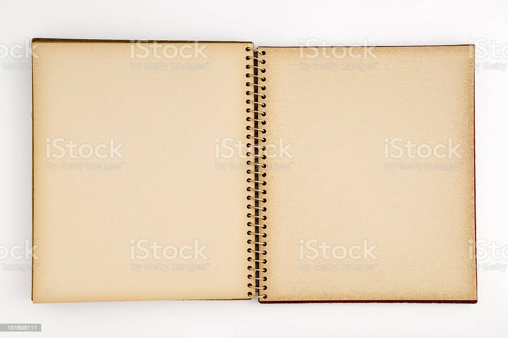 Old Photo Album stock photo