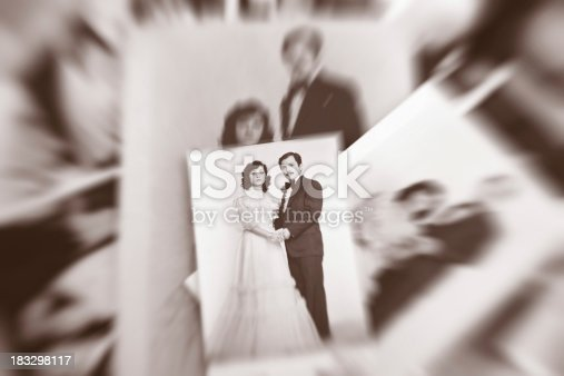 istock Old Photo Couples 183298117