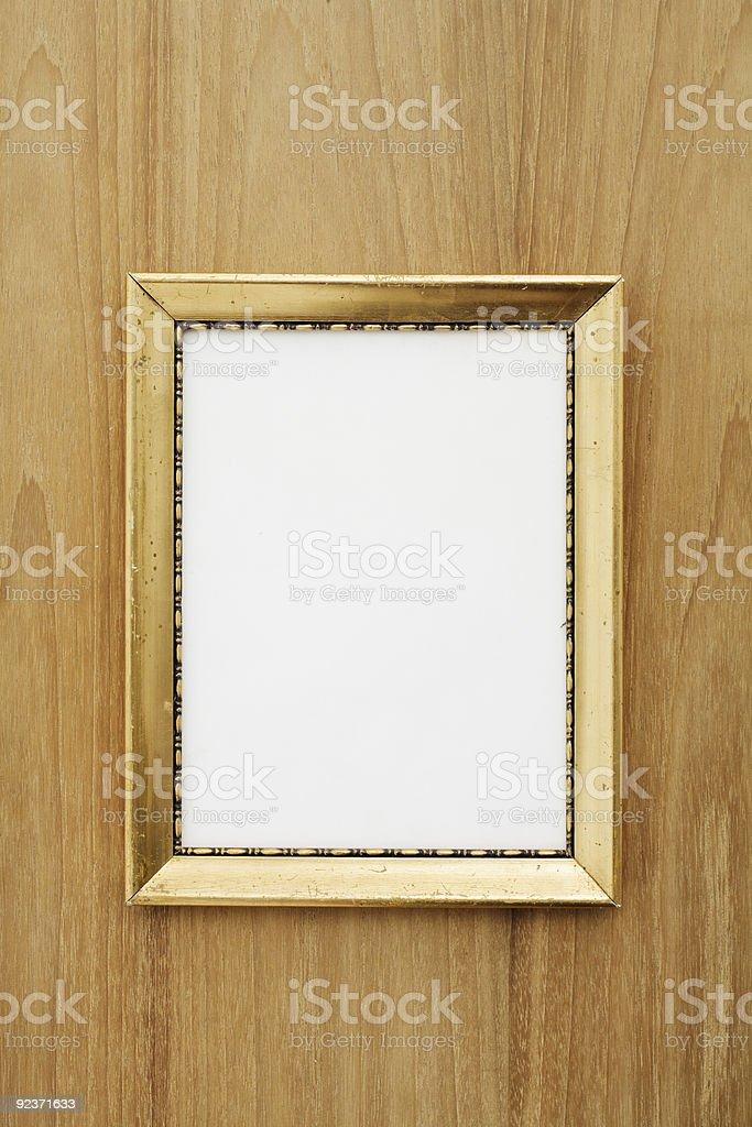 Old photo frame royalty-free stock photo