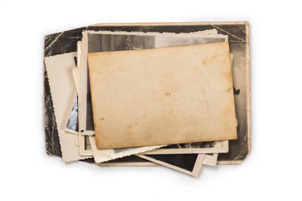 舊相框。老式紙。復古卡 - 相簿 個照片及圖片檔