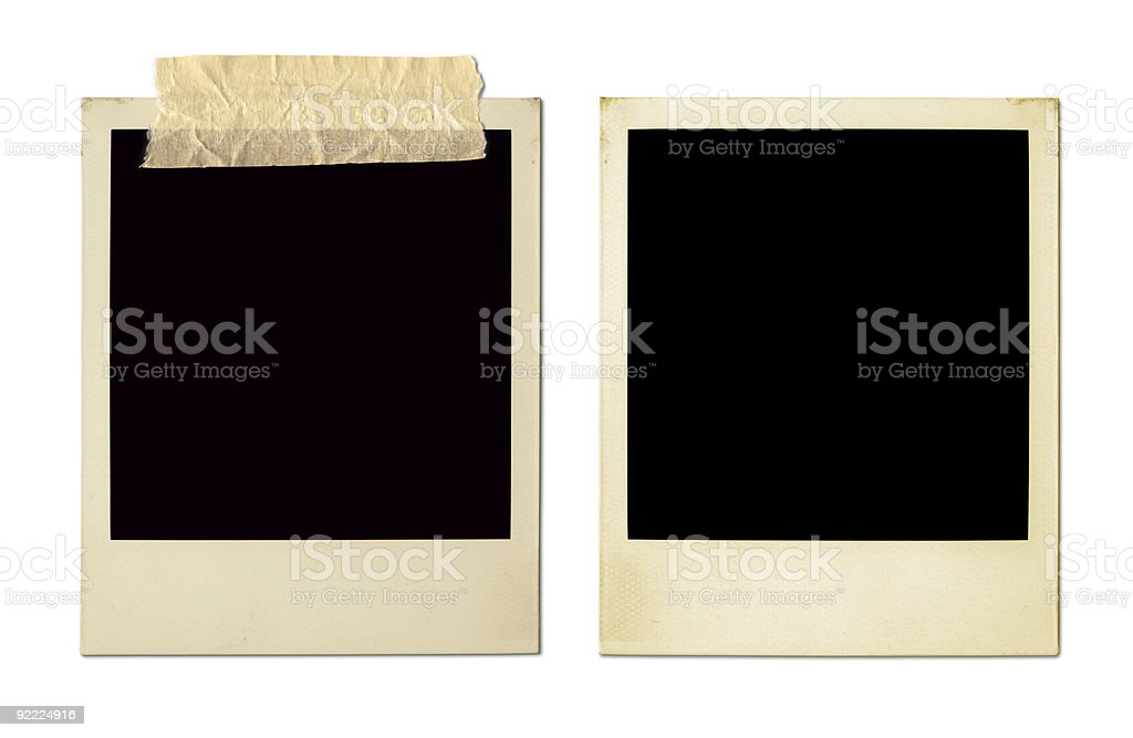 Old Photo Frames (XXL) stock photo