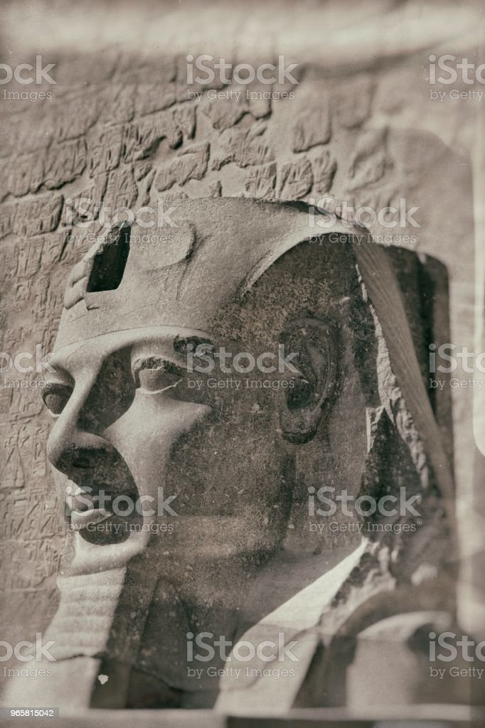Old photo in Egypt - Royalty-free 1900 Stock Photo