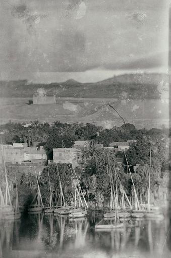 Oude Foto In Egypte Stockfoto en meer beelden van 1900