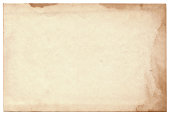 istock Old photo on white background. Vintage empty postcard texture 181397177