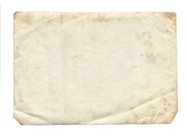 старая текстура фотографии с пятнами и царапинами - письмо документ стоковые фото и изображения