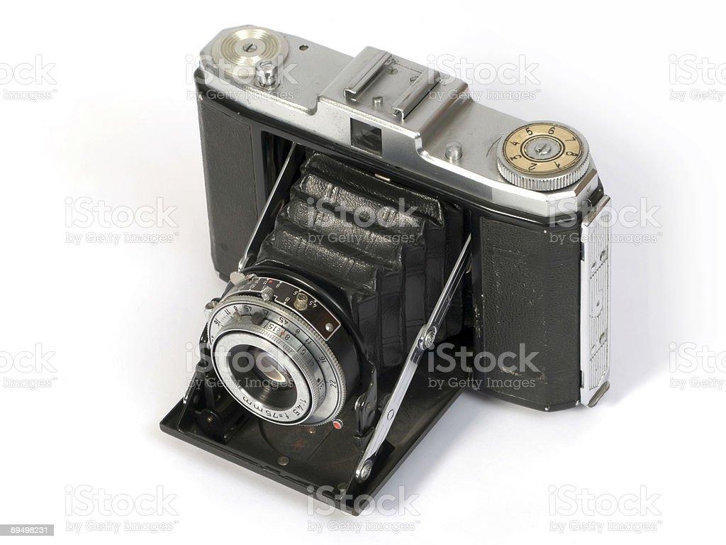 Vecchia macchina fotografica foto stock royalty-free
