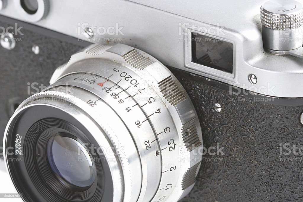 Old Photographic Device royalty-free stock photo