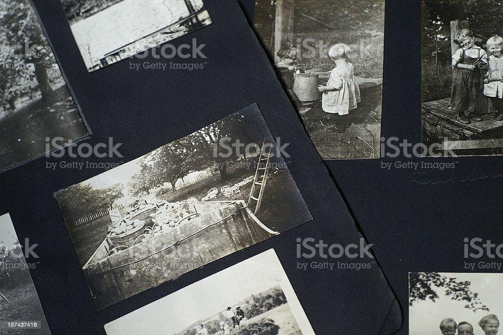 Old Photographs stock photo