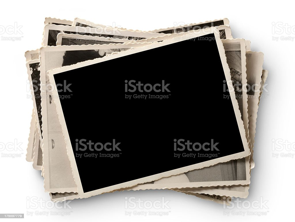 Old photographs royalty-free stock photo