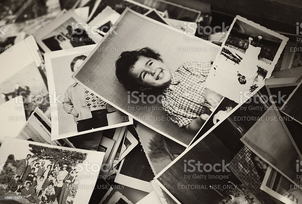 Old Photographs stock photo