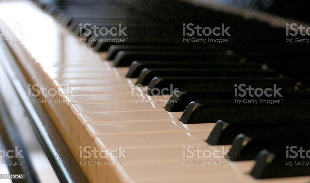 Clavier de piano photo libre de droits