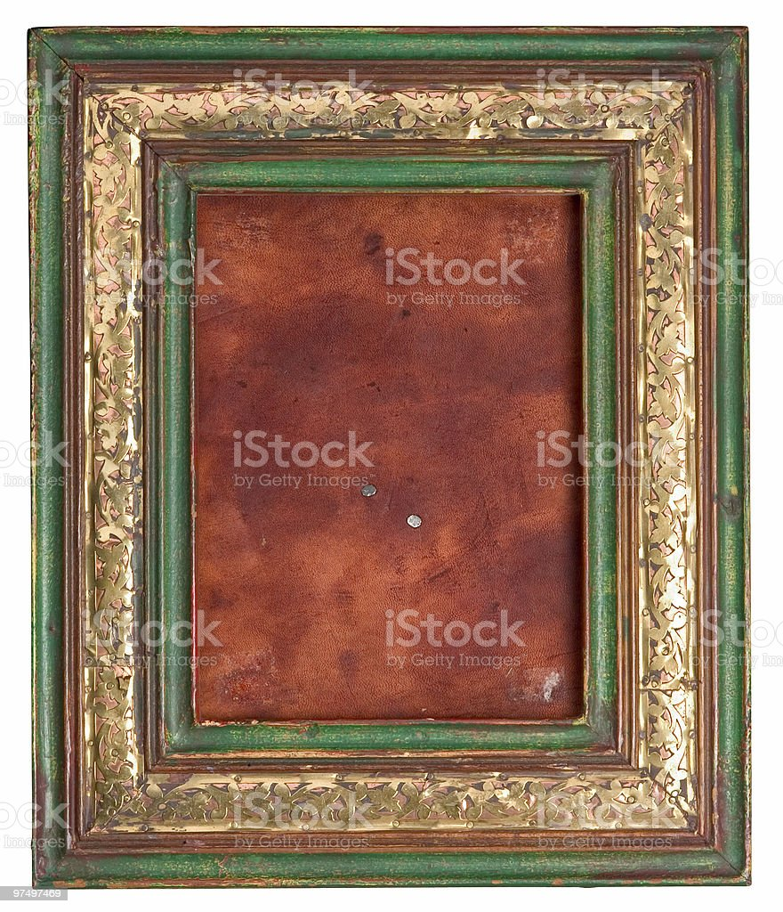 old picture frame royalty-free stock photo