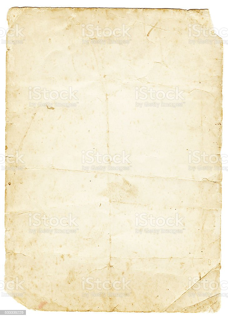 old piece of paper stock photo  u0026 more pictures of 2015