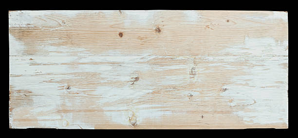 Old piece of weathered wood board. Old piece of weathered wood board, isolated on black, clipping path included. driftwood stock pictures, royalty-free photos & images