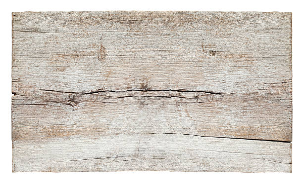 Old piece of white weathered wood board. Old piece of white weathered wood board, composite image, isolated on white,clipping path included. driftwood stock pictures, royalty-free photos & images